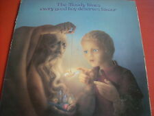 LP THE MOODY BLUES EVERY GOOD BOY DESERVES FAVOUR GATEFOLD INSERTO E TESTI LOOK