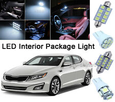 16PCS White SMD Interior LED Light Bulbs Package Kit for 02-06 Chevy Avalanche