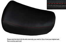 RED STITCH CUSTOM FITS BMW R100 R80 STANDARD LEATHER  SEAT COVER