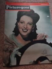 Vintage Picturegoer magazine  Aug 5th 1944 Linda Darnell