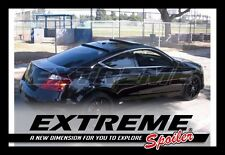 EXTREME// COMBO PAINTED TRUNK + ROOF SPOILER For Honda Accord 2008 - 2012 COUPE