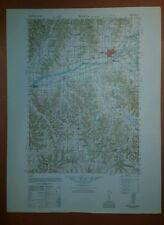 1940's Army Topo Map Sparta Wisconsin  2871 IV Bangor Rockland