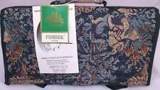 New Tapestry Travel Shopping Tote with Wheels Pioneer Express Nature Scenes Wood