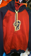 BASKETBALL HOODY AND ONE IN MEDIUM 38/40 INCH  OR X/L IN RED/NAVY AT £18 THICK