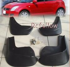 4 PCS MUD FLAP FLAPS SPLASH GUARD MUDGUARDS For SUZUKI SWIFT HATCH 2005-2009