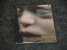 """RAMMSTEIN Mutter Rare Foldout Digipak Wallet CD"""" With Poster"""
