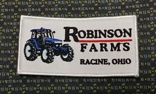 ROBINSON FARMS RACINE, OHIO (FARMING) Iron or Sew-On Patch EMBROIDERED