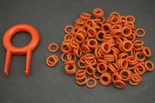 150x Keycap Rubber O-Ring Switch Dampeners RED For CHERRY MX Replace & Puller