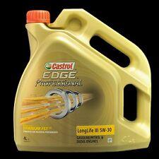 CASTROL Edge professional longue durée III 5w-30 FST 4 litres-audi, vw 50400/50700
