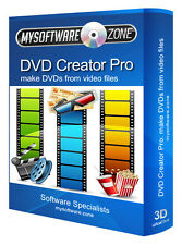 DVD Creator Pro - Convert Any Video into a DVD Authoring Avi Divx PC software CD
