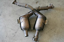 Porsche 986 Boxster 1997-1999 2.5L Exhaust Down Pipes Pair Right + Left