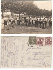 Berlin, Turnverein Gymnastic Club German athlet sporty boys RPPC 1921 Gay Int