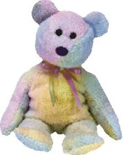 TY Beanie Baby GROOVY Ty-Dye TEDDY BEAR Mint MWMT Retired Babies Bean Bag Toy