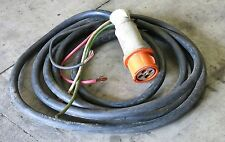ARROW HART 100A CONNECTOR 4-WIRE MILITARY 28FT POWER CABLE P-241-3-MSHA 3-PHASE