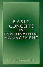 Basic Concepts in Environmental Management by Mackenthun, Kenneth M.