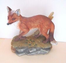 "Vintage RED FOX 5618 Andrea by Sadek Made in Japan 6"" x 6"""