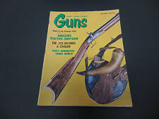 Guns Magazine December 1965 Pontious Rifle Amazing Electric Shotgun .223