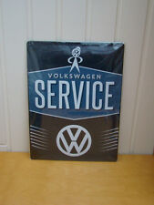 Volkswagen Service VW Metal Retro Wall Plaque Sign 30x40cm Beautiful Gift