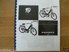 P0109 PEUGEOT---ONDERDELEN---102 R (NL) + 102 T (NL)-MODEL PART LIST