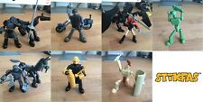 Stikfas lot of 7 figures and accessories