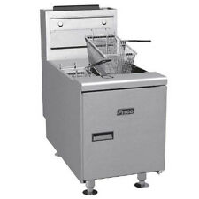 Pitco SGC-S Countertop Full Pot Gas Fryer 35 lb. Oil Capacity