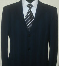Ermenegildo Zegna Natural Comfort Navy/Blue 100%Wool Suit,Size UK 42R W36 L31