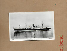 mechant vessel Clan Sutherland Glasgow Postcard sized photograph ,plain back Ao1