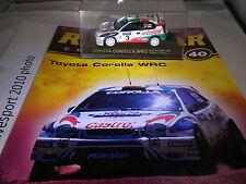 Deagostini Rally Car Collection cuestión 40 1999 Toyota Corolla Wrc Carlos Sainz L