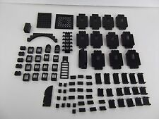 LEGO Black Castle Walls Specialty Pieces 4444 30041 6108 4151 30134 2362 L603