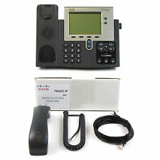 Cisco CP-7942G 7942 SIP VoIP IP Telephone Phone PoE - Quality Refurbished