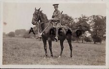 WW1 Trooper Northants Northamptonshire Yeomanry Annual Camp 1914