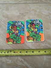 Sims Skateboard Stickers Staab Vintage 80's Nos