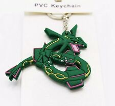 Pokemon Rayquaza Rubber Keychain 2.5 Inches US Seller