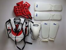 T SPORT MARTIAL ARTS/ KICK BOXING Head Body Protection/ Pads Size Small Junior