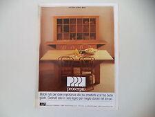 advertising Pubblicità 1981 MOBILI PROSERPIO - GIUSSANO BRIANZA (MILANO)