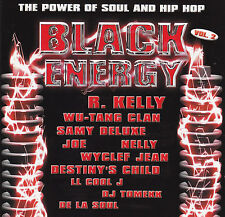 BLACK ENERGY-THE POWER OF SOUL & HIP HOP / VARIOUS ARTISTS - 2 CD SET