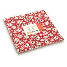 """Moda FABRIC Layer Cake ~ HOP, SKIP AND A JUMP! ~ by American Jane - 10"""" squares"""