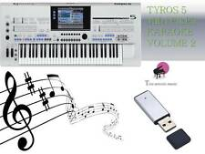 MIDI File Karaoke USB stick for Tyros 5 NEW Volume 2