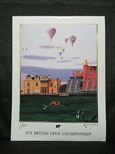 Hiro Yamagata Jack Nicklaus 1978 British Open Lithograph