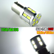 2x DC 6V 1156 5630 17 SMD LED White Car Bulb Light Brake/Turn/Tail /Reverse Lamp
