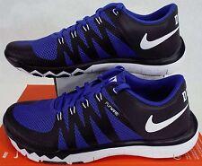 New Mens 12 NIKE Free Trainer 5.0 V6 AMP Duke Blue Black Shoes $110 723939-041