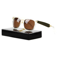 RETROSUPERFUTURE Super Flat Top Sunglasses 893 Gold Francis Crystal / Brown Lens