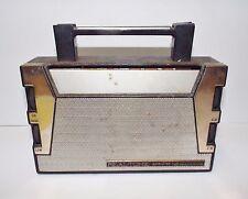 Vtg Realtone AM-FM 14 Transistor Portable Radio - needs tlc / parts / restore
