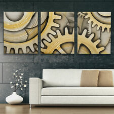XL Metal Wall Art - Modern Abstract Sculpture Contemporary Painting - Home Decor