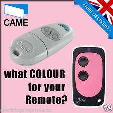 CAME GATE REMOTE CONTROL KEY FOB - TOP 432NA - UK SELLER - PINK