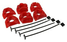 Energy Engine Motor Mount Inserts 94-01 Acura Integra / Civic Si 99-00 (Red Kit)