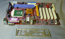 PCChips M848A REV 2:1 Socket 462 Motherboard Complete With I/O Plate & CPU