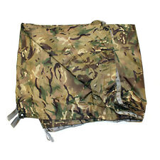 ARMY ISSUE MTP BASHA - USED - WATERPROOF SHELTER - ONE SIZE - WITH STUFF SACK
