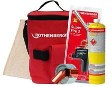Rothenberger-Hotbag super-fire torch/carte/gaz 15MM Pipeslice/soldermat