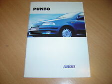 CATALOGUE Fiat Punto de septembre 1994